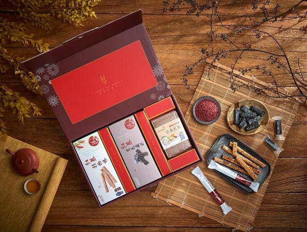 紅藜富貴禮盒 D款(3入裝) 1