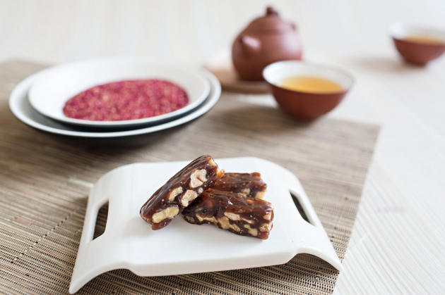 紅藜核桃糕(全素) 1