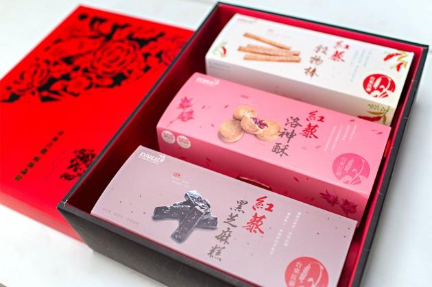 紅藜富貴禮盒(3入裝) 2