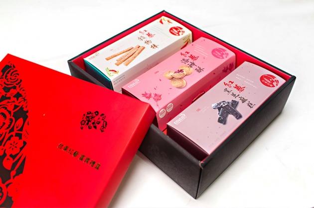 紅藜富貴禮盒 A款(3入裝) 1