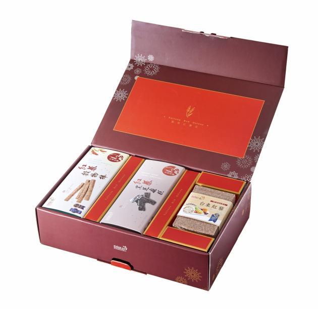 紅藜富貴禮盒 D款(3入裝) 2